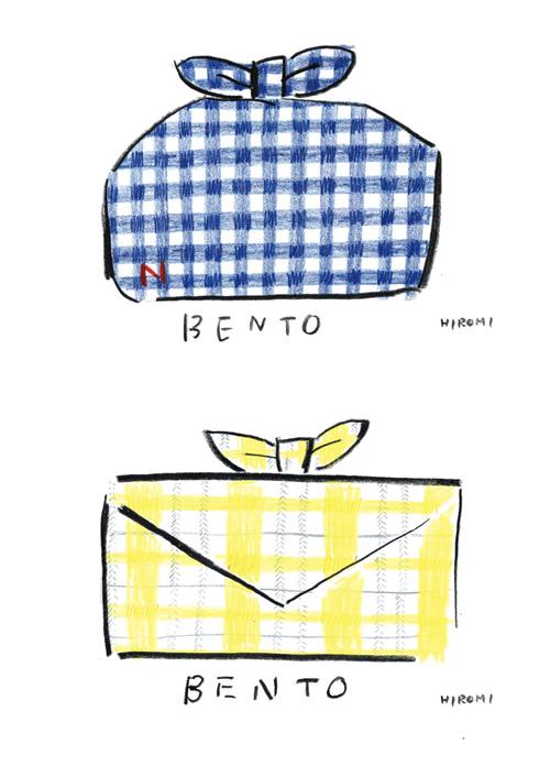 bentoポストカード